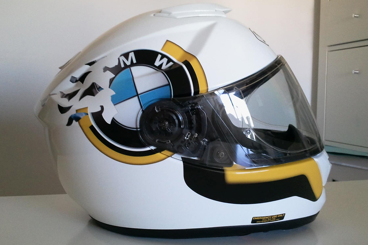 Casco Shoei - Vinilo Impreso