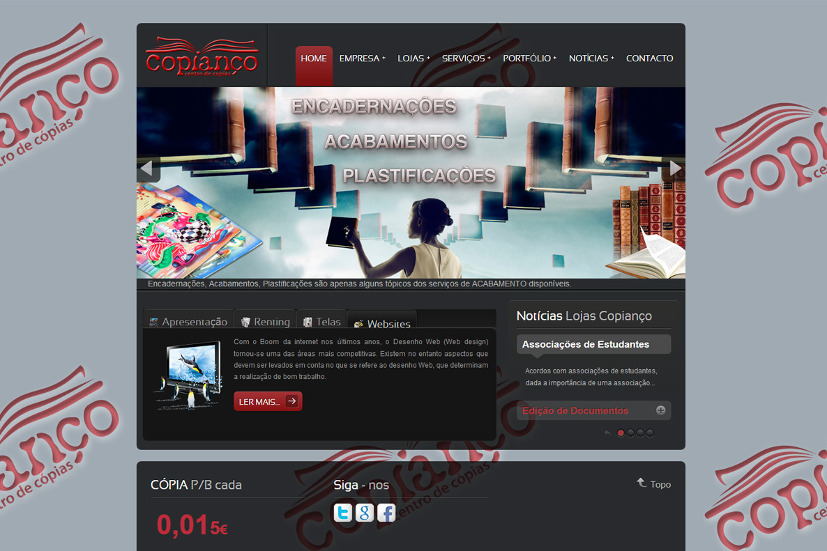 Website - Copianço