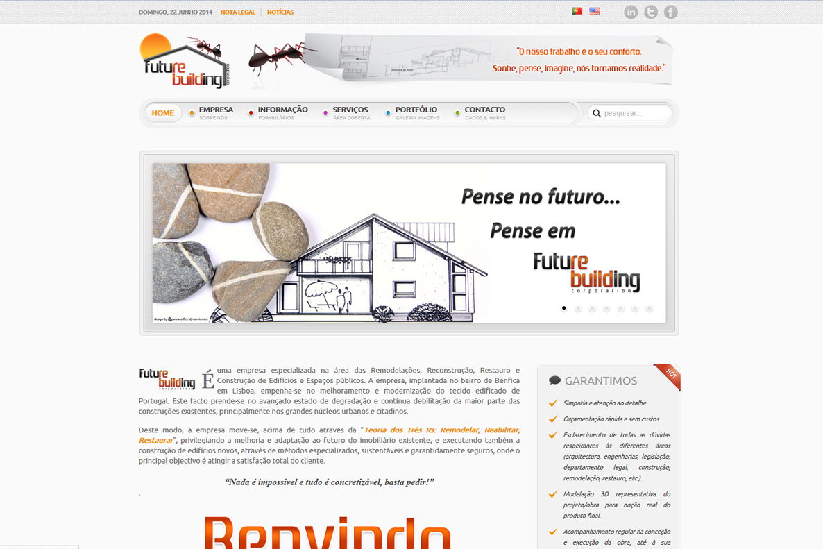 Website - Future Building Co