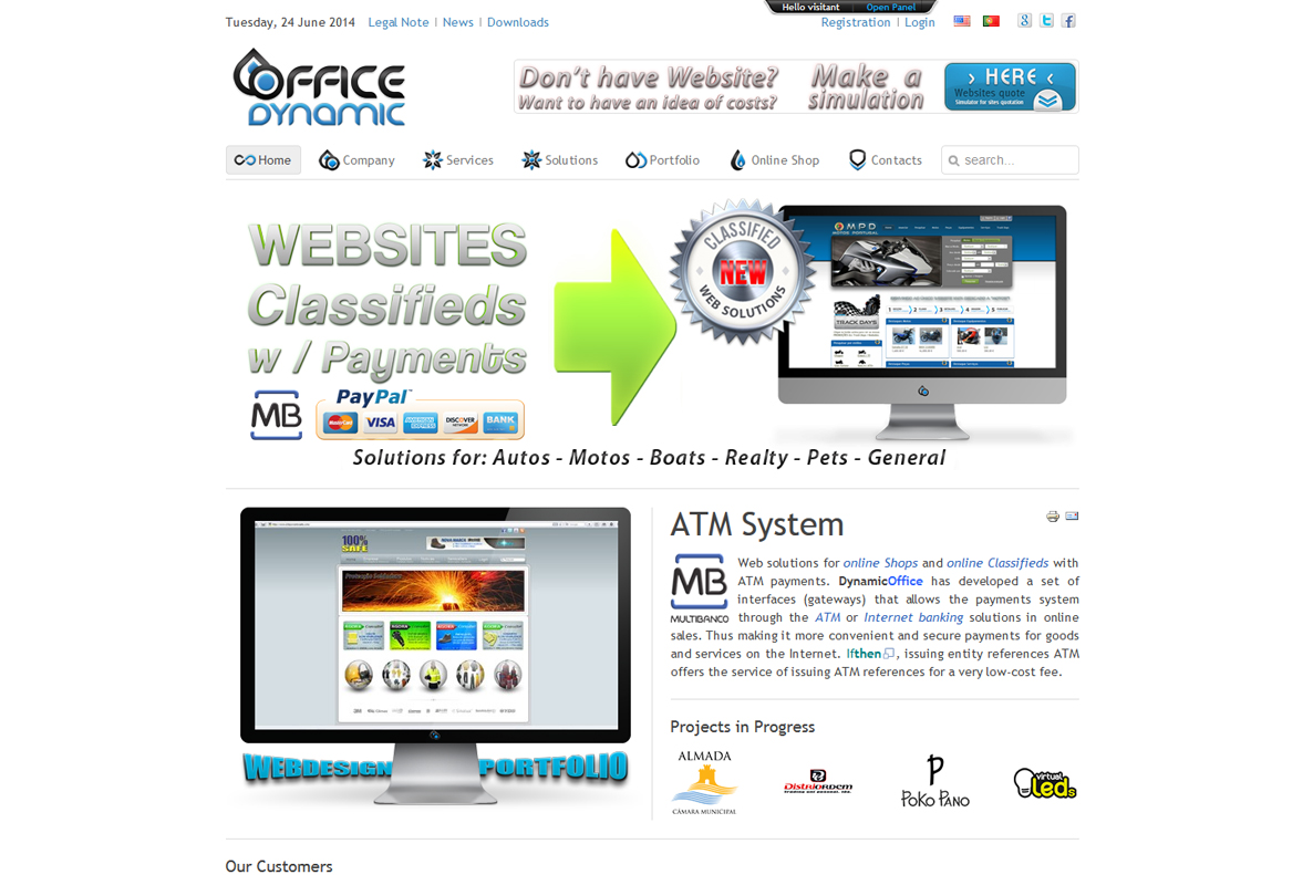 Website - Office Dynamic