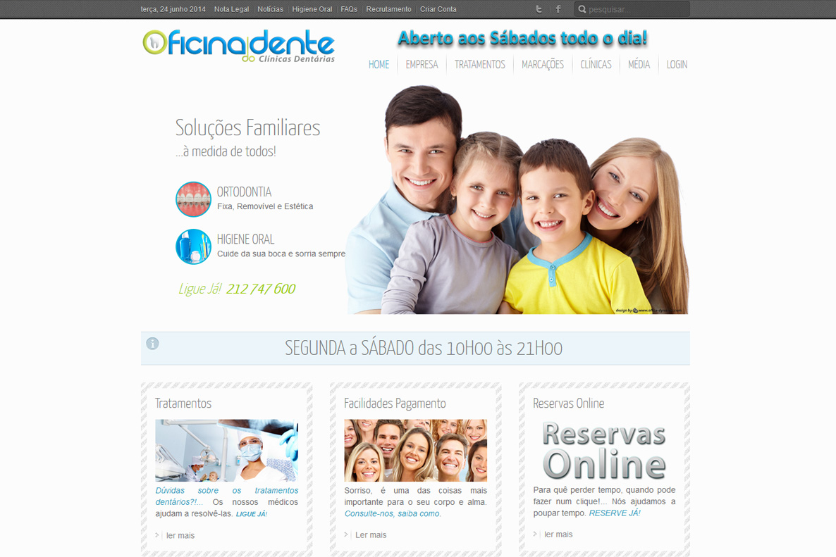 Website - Oficina do Dente
