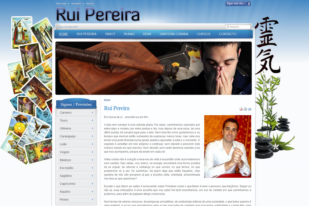 Website - Rui Pereira