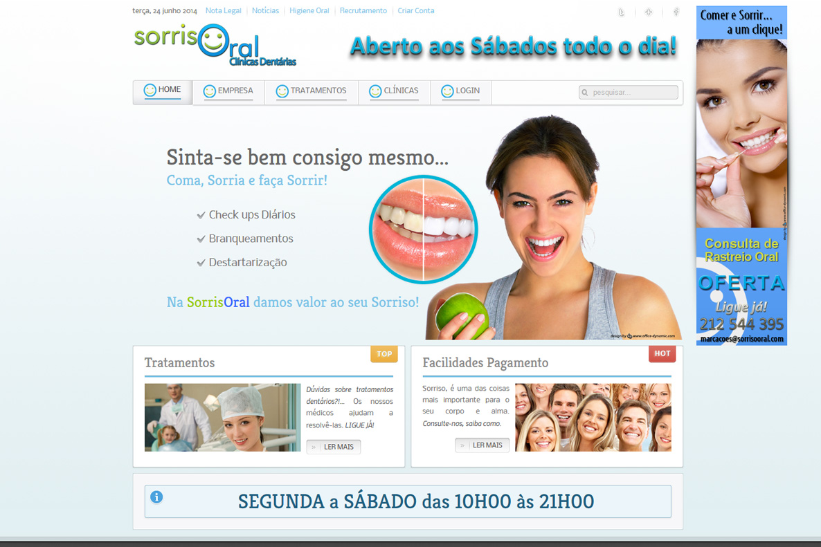 Website - SorrisOral